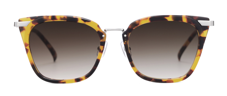 Muzik Gritty Rectangular Sunglasses