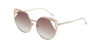 For Art's Sake Delta Oversize Sunglasses