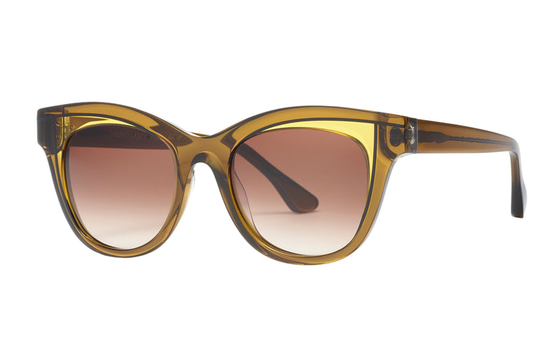 Thierry Lasry Frivolty Green Sunglasses