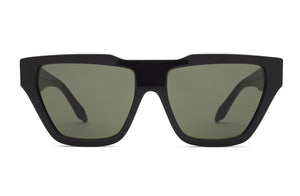 Victoria Beckham Square Cat Black Sunglasses