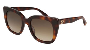 Gucci GG0163S Oversized Sunglasses