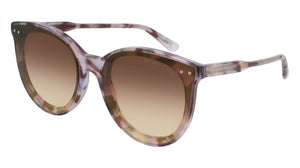 Bottega Veneta BV0165S Purple Sunglasses