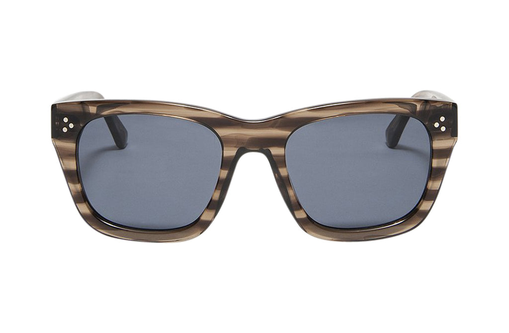 Article One Belville square rectangular sunglasses front view
