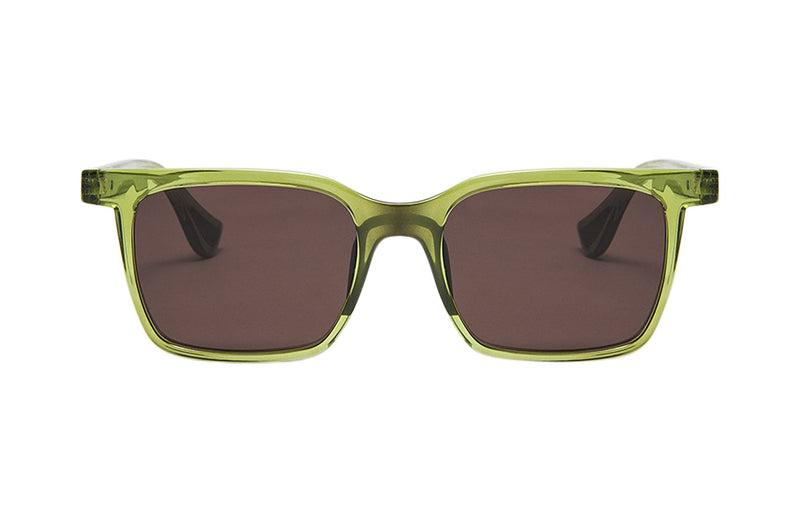 Article One Park green active sunglasses front view