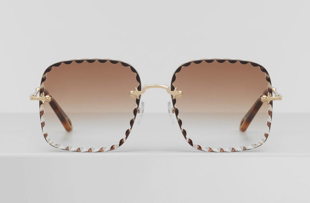 Chloe Rosie Square Sunglasses at Cloak Supply