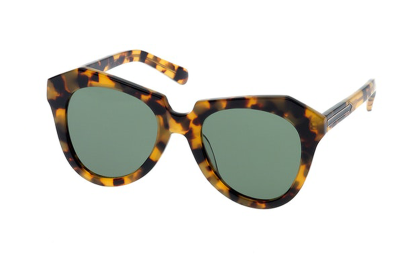 Karen Walker Number One Oversized Sunglasses