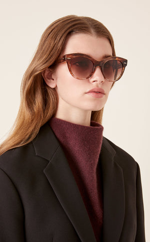 Oliver Peoples x The Row Georgica Cateye