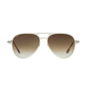 Kyme Louise Clear Sunglasses