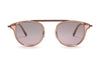 Garrett Leight California Optical Van Buren Combo Pink Sunglasses