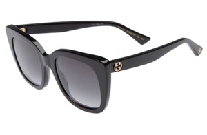 Gucci GG0163S Black Sunglasses