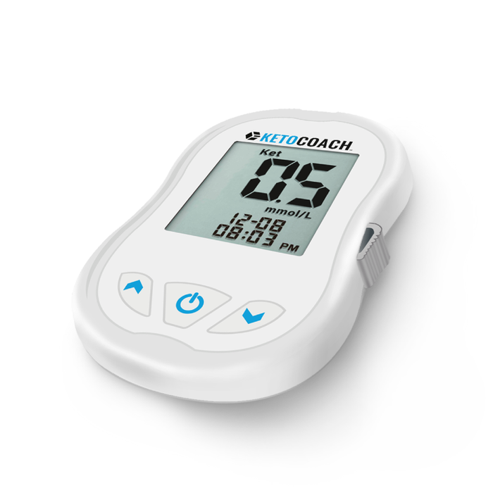 Keto Coach Blood Ketone Meter For Testing Ketosis