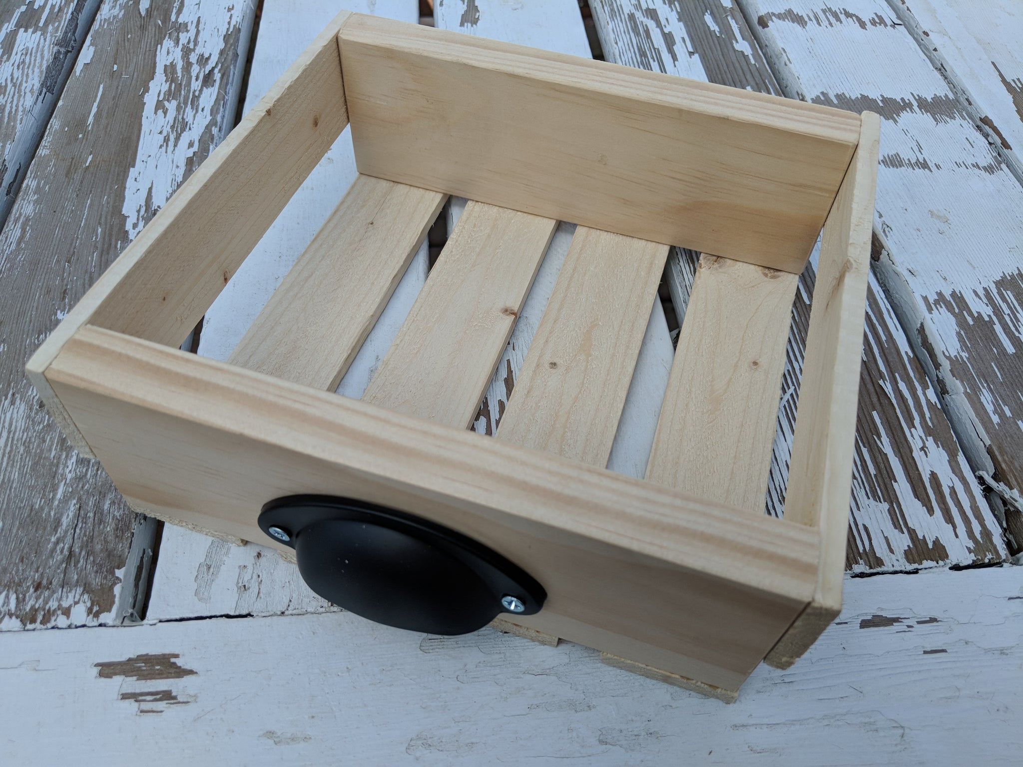 Wooden Egg Crate - Holds up to a Dozen Eggs - 8.5 x 7.5  x 2.75""