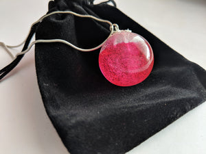Sphere Necklace -Resin
