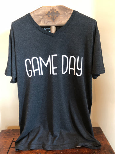 Black Game Day T-Shirt