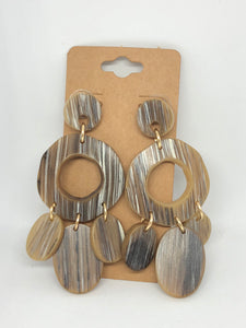 Shades of Brown Earrings