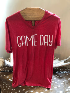 Red Game Day T-shirt
