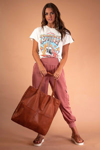 day and mood oversized tote