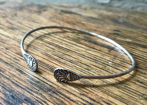 Fresh Perspective Sterling Silver Cuff Bracelet