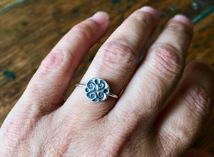 Four Winds Sterling Silver Ring
