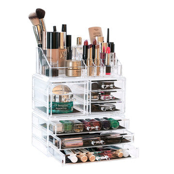 "3 Tier ""The Stunner"" Makeup Organiser"