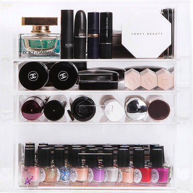 4 Tier Luxury Makeup Storage Organiser