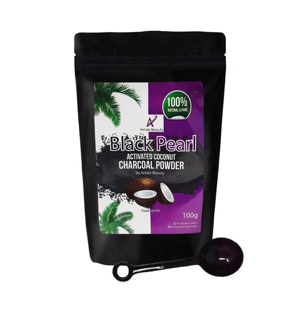 Black Pearl Activated Coconut Charcoal Powder