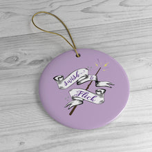 Swish & Flick Logo Ceramic Ornament