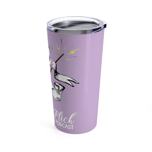 Swish & Flick Logo Tumbler 20oz