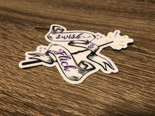 "3"" Swish and Flick Die Cut Sticker"