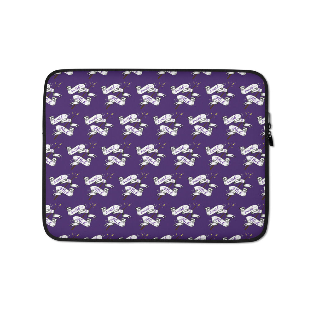 Swish & Flick Logo Laptop Sleeve