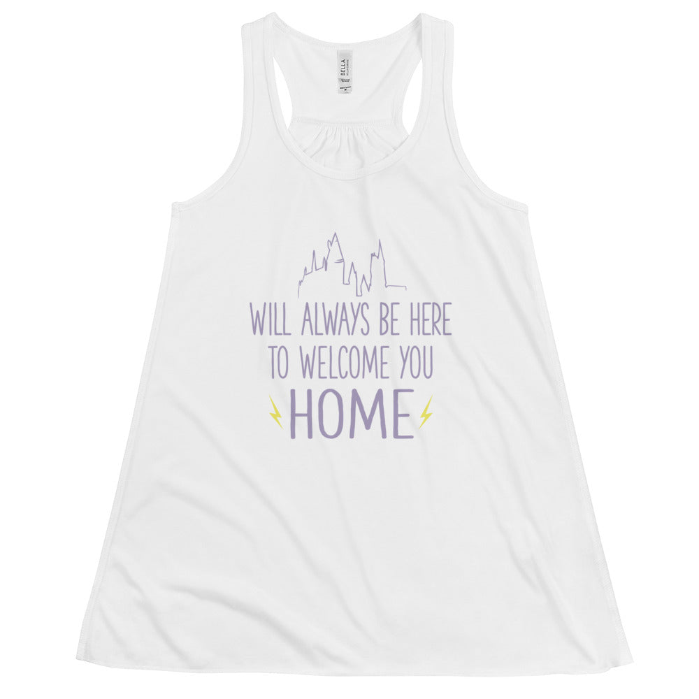 Hogwarts Will Always Be Here Racerback Tank Top