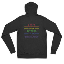 PRIDE Lightning and House Pride Unisex zip hoodie sweatshirt