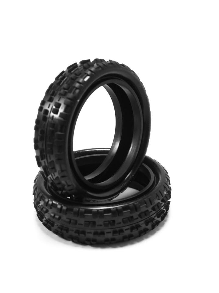 HotRace 1/10 Carpet 2wd Front Tires (pair)