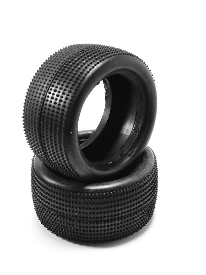 HotRace 1/10 Carpet 2wd Rear Tires (pair)