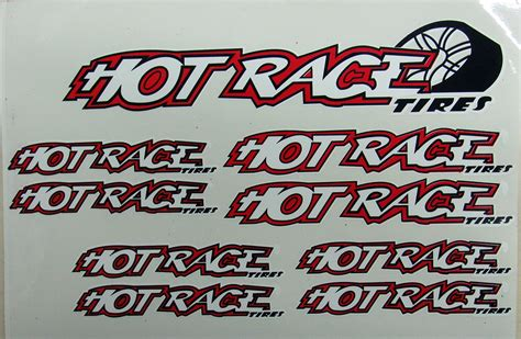 Hotrace Decals