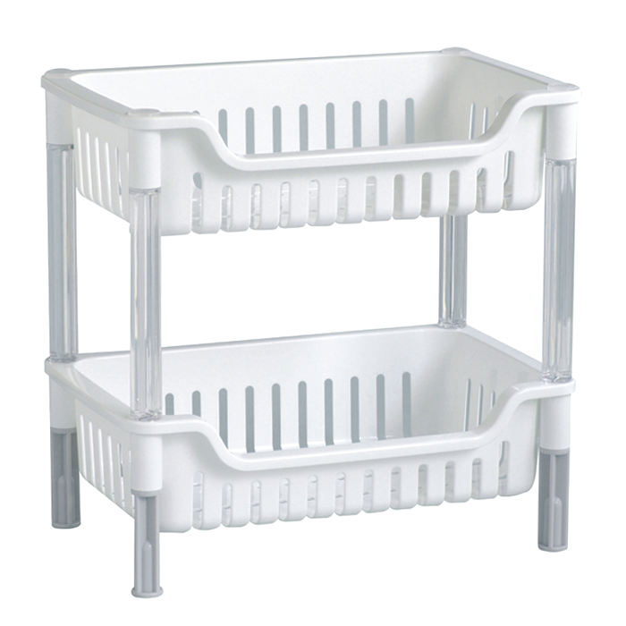 2 Tier Stacking Basket