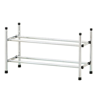 2-Tier Extend & Stack Shoe Rack