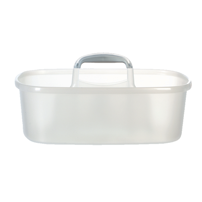 Rectangular Bucket Caddy - Transparent