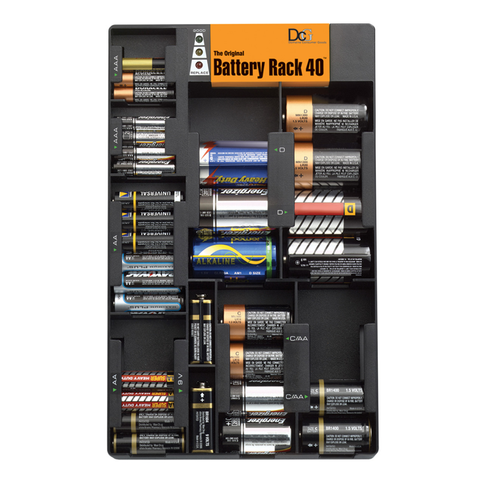 Battery Rack-Black