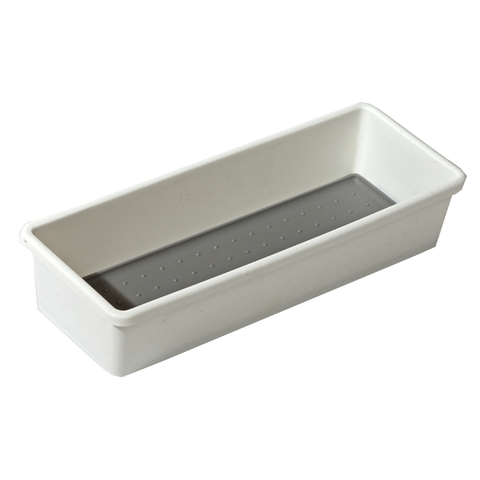 White Drawer Organizer Bins