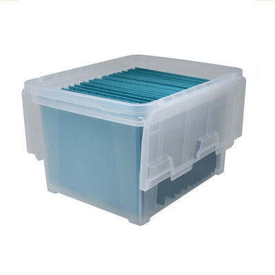Wing Lid File Box Wfb-45 Clr