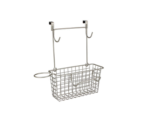 Dryer & Accessory Over The Cabinet Basket