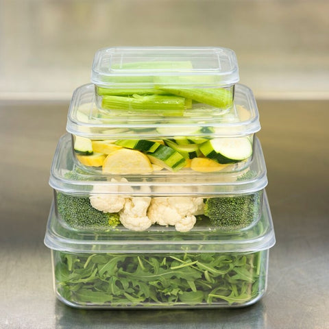 Crystal Clear Food Storage