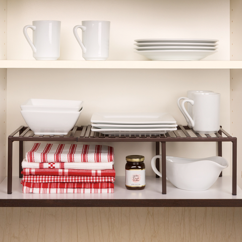 Bronze Expandable Kitchen Shelf