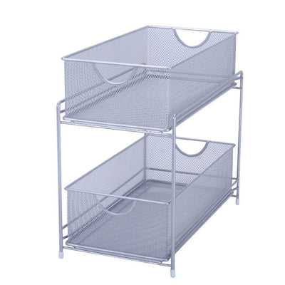 Two Tier Pull-Out Basket