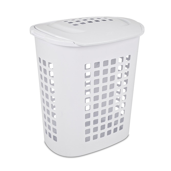 Lift-Top Laundry Hamper