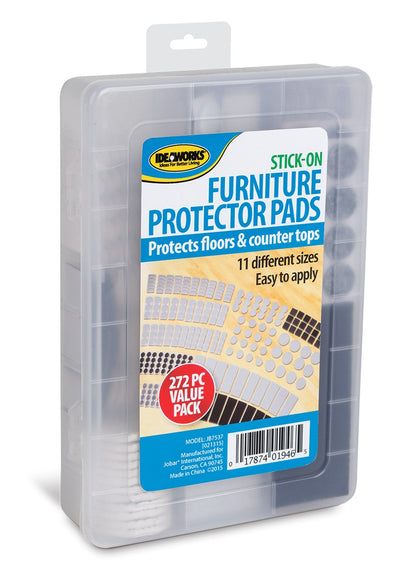 Stick On Furniture Protector Pads, 272Pk