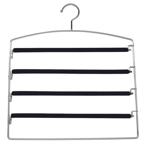 Valet Quad Pants Hanger-Black