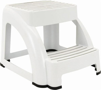 Step Stool (2-Step) - White