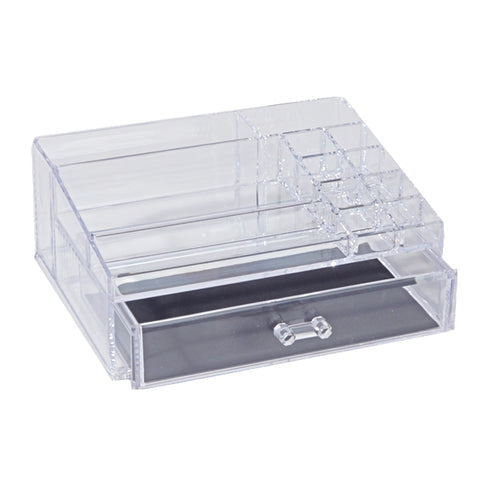 Cosmetic Organizer With Drawer